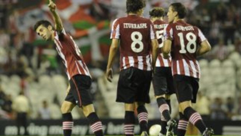 Susaeta hizo uno de los goles del Athletic de Bilbao.