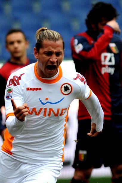 La Roma parecía perfilada a una victoria cómoda en casa del Genoa.