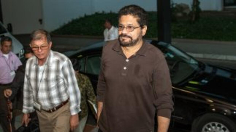 Ivan Márquez, líder de las FARC.