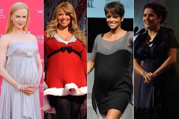 Aunque el embarazo tardío se ha vuelto cada vez más común, algunas famos...