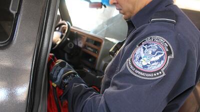 En fotos: Autoridades fronterizas no bajan la guardia a pesar de caída en contrabando de marihuana