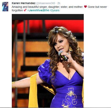Fanáticos de Jenni Rivera honraron el segundo aniversario de la muerte d...