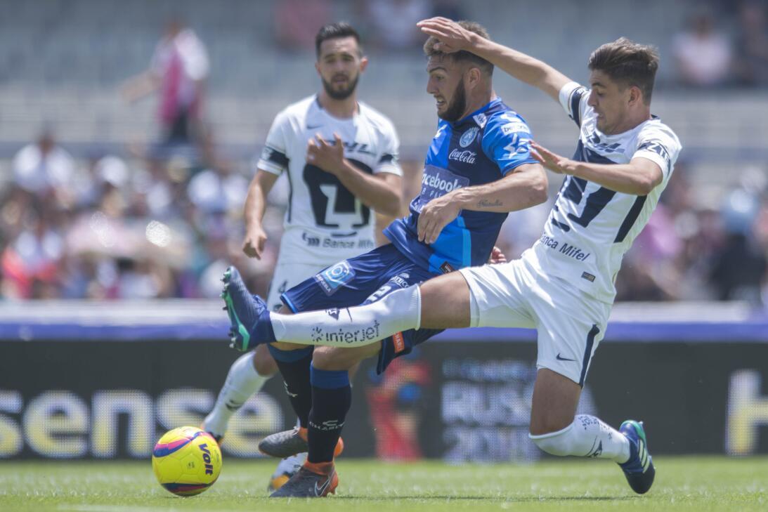 En fotos: Pumas impone categoría con 4-2 sobre Puebla y aún pelea por la...