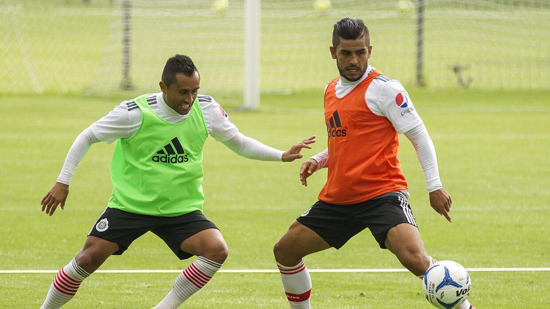 Edwin Hernández y Miguel Ponce