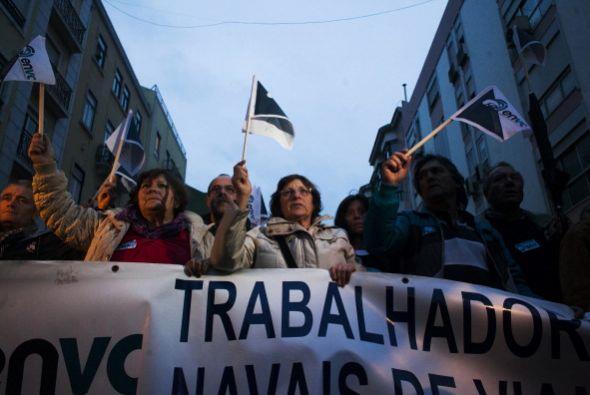 Portugal pasa también por un difícil momento laboral. El 87% de su pobla...