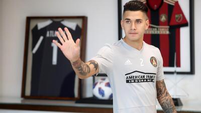 Franco Escobar, el 'carril hacia la copa' para Atlanta United en la final ante Portland
