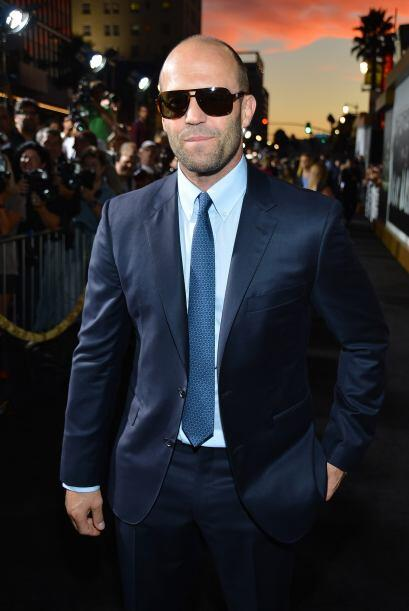 "Jason Statham, alcanzó la fama con cintas de acción como ""The Transporte..."