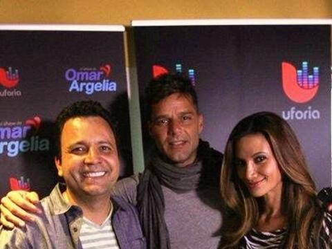 ¡Ricky Martin estrenó su nuevo sencillo con Omar y Argelia!