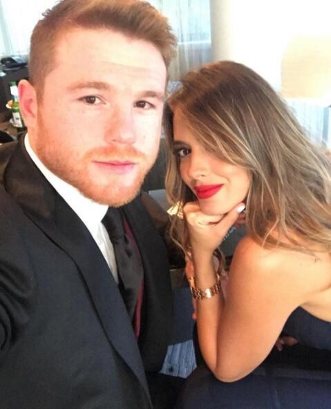 Selfie Canelo y Shannon
