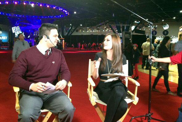 Michelle Galván y Stefano Fusaron estuvieron transmitiendo en vivo desde...