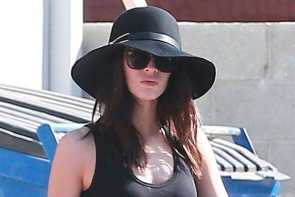 Megan Fox es ahora un guapísima mamacita.