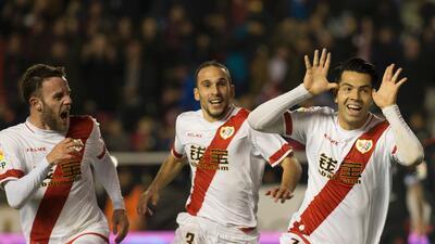 El Rayo le puso un baile al Celta de Vigo
