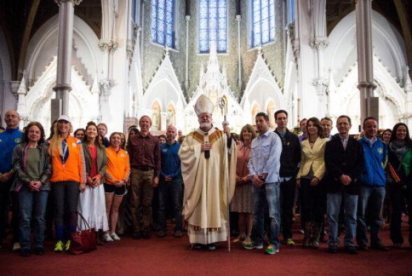 También el domingo se llevaron a cabo servicios religiosos de Pac...