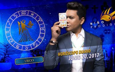 Niño Prodigio - Virgo  20 de junio 2017