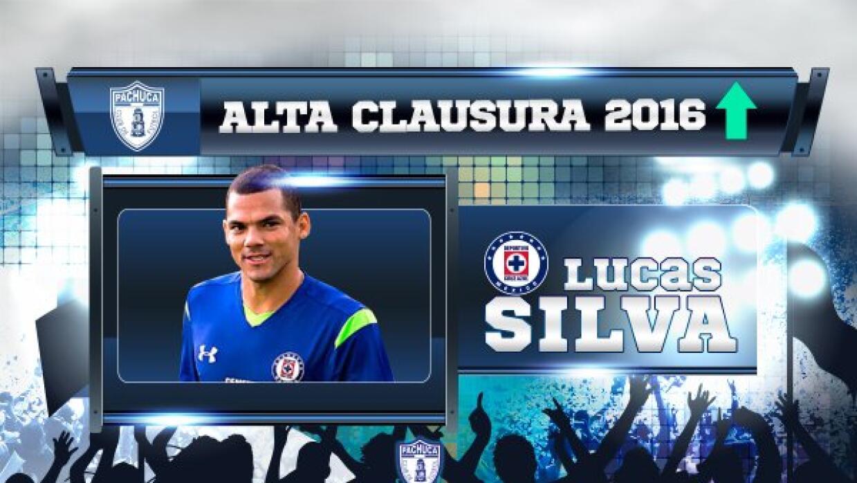 Lucas Silva jugará con Tuzos la próxima campaña.