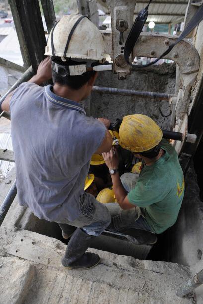 El yacimiento pertenece a la empresa Minesadco, con unos 50 empleados y...