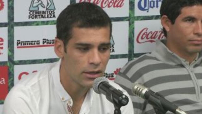 Rafael Márquez, contento con su llamado al Tri