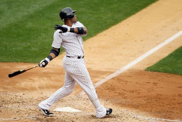 2B. Robinson Canó. Yankees de Nueva York. El dominicano bate&oacu...