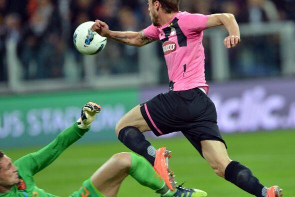 Más tarde llegaría una polémica jugada, también en favor de Juventus.