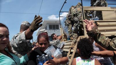 En fotos: Así golpeó el poderoso huracán María a Puerto Rico