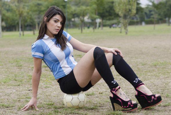 La guapa modelo declaró al diario argentino Clarín, que lo suyo era habi...