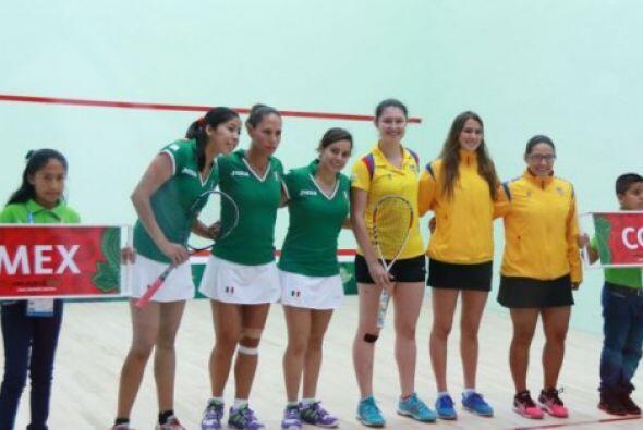 De la mano de Samantha Terán, México consolidó su condición de favorito...