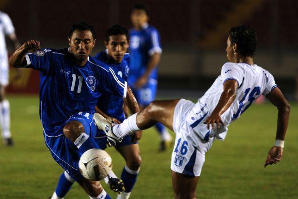En el primer partido semifinal, Honduras venció a El Salvador.