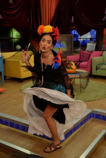 Aunque no tenía un vestido tan corto y entallado como el de Marilyn, Fri...