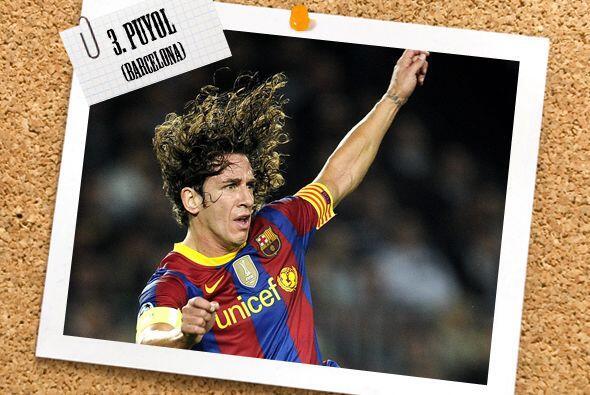 El capitán del Barcelona Carles Puyol fue sinónimo de segu...