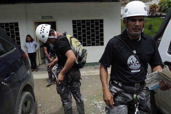 Los mineros quedaron atrapados en el quinto nivel del yacimiento, un lar...