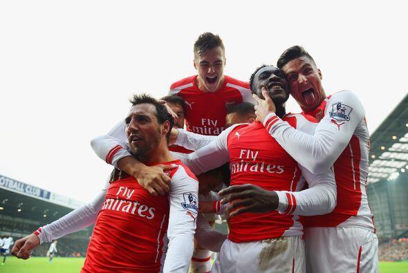 8. Arsenal (Inglaterra) 359.3 millones de euros en ingresos durante la t...