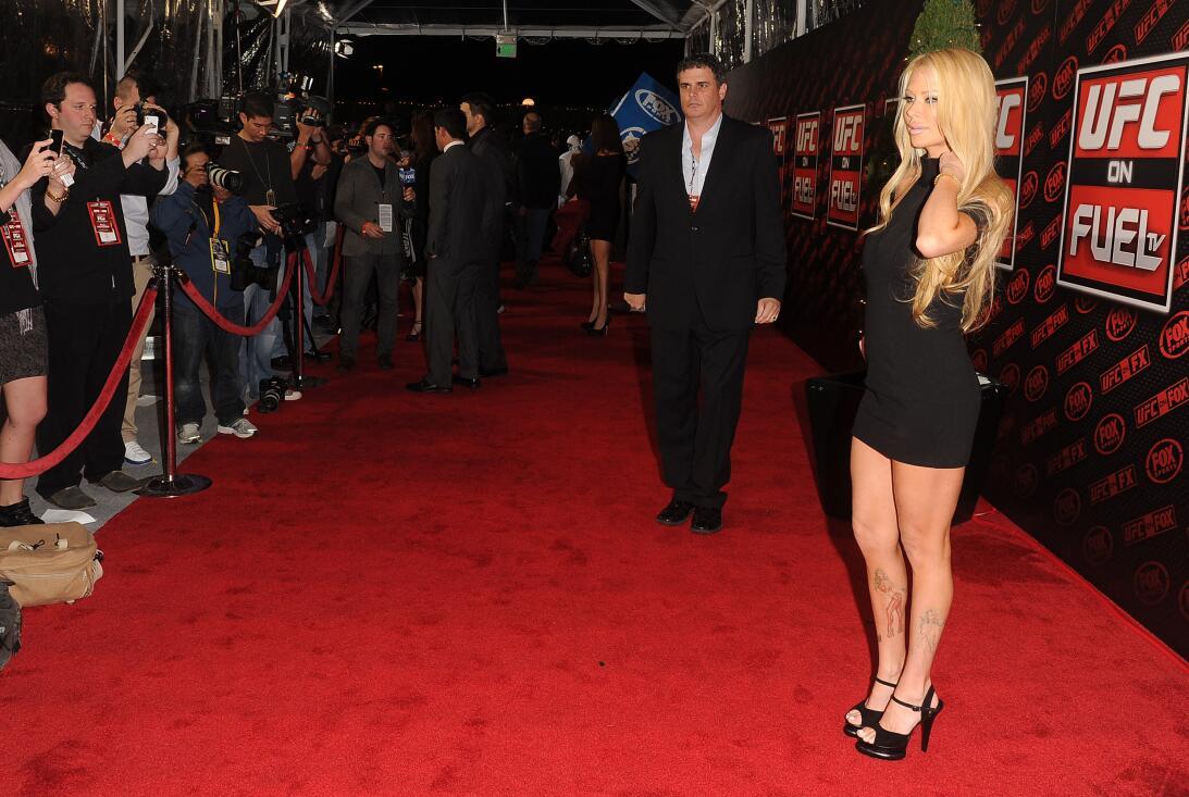 Jenna Jameson, la estrella de cine porno que conquistó a un campeón de U...