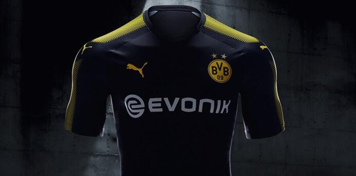 Las playeras para la temporada 2017-18 comenzaron a develarse Borussia.jpg