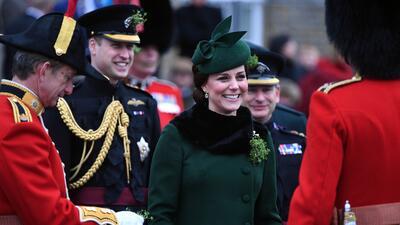 Con cerveza y agua mineral: Los Duques de Cambridge celebran el día de San Patricio