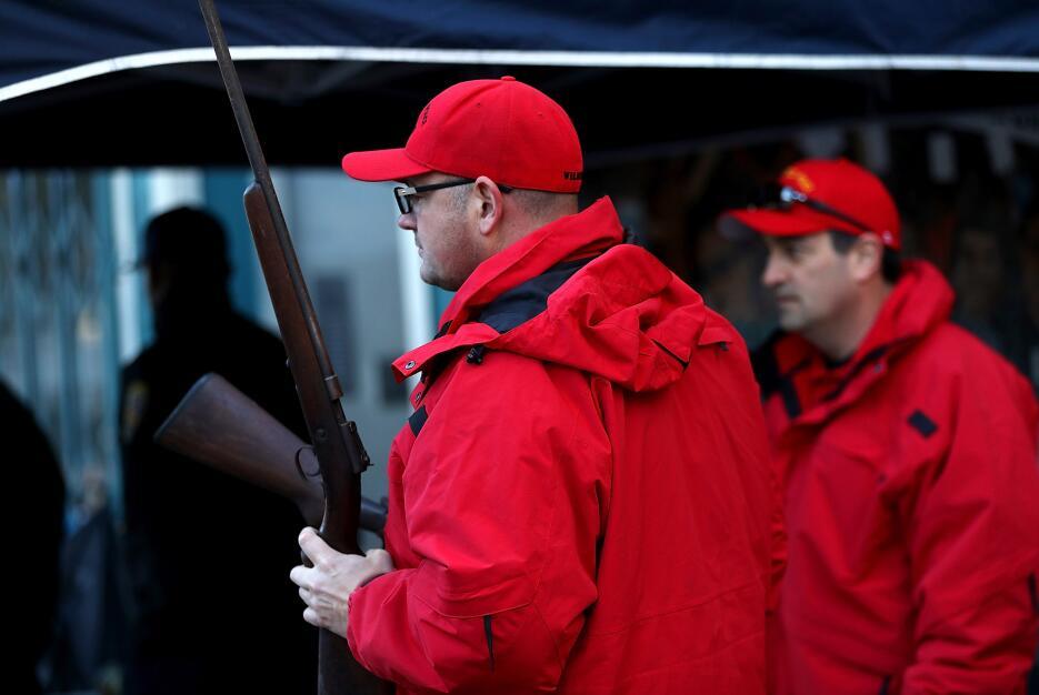 Decenas de armas fueron entregadas en un evento organizado por United Pl...