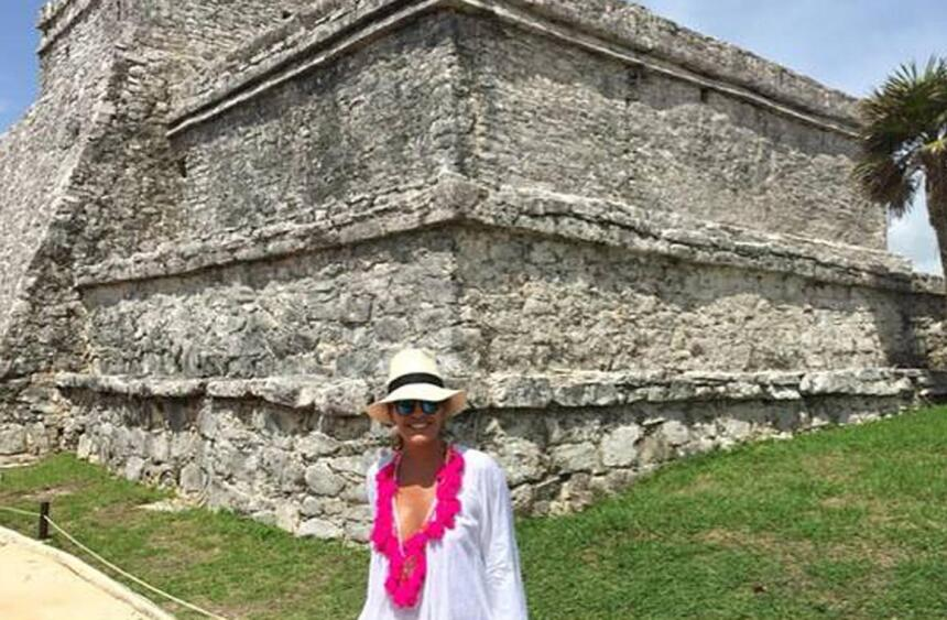Karla Martínez vacaciones 2015