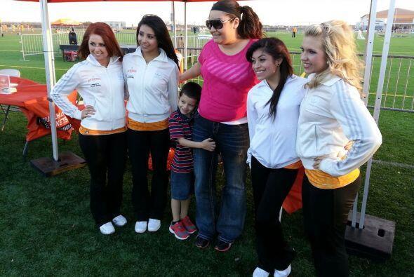 El equipo presentará a las nueva Dynamo Girls este jueves.