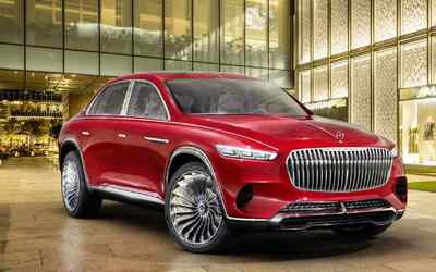 Vision Mercedes-Maybach Ultimate Luxury SUV