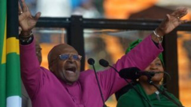 Ladrones irrumpieron el martes en la casa de Desmond Tutu en ciudad del...