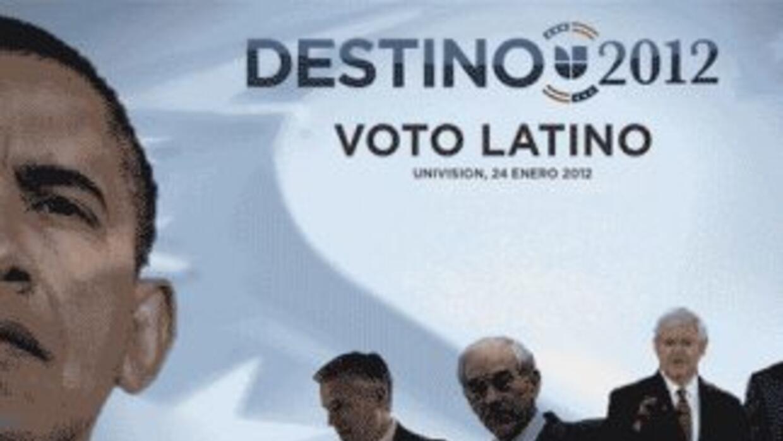 La tendencia mostrada en la encuesta Univision Noticias, ABC y Latino De...