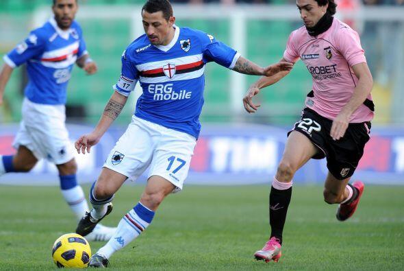 Sampdoria se metió a la casa del Palermo.
