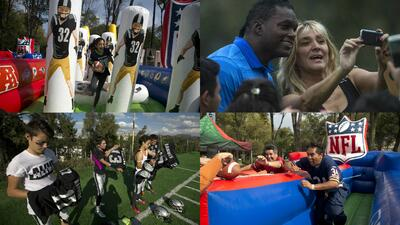 La NFL en México: diversión para fanáticos y para leyendas