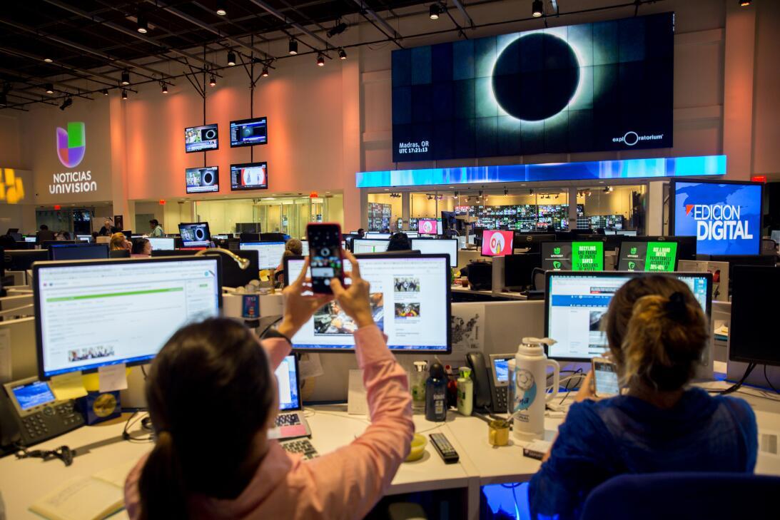 Los periodistas de Univision Noticias Digital no tuvieron la necesidad d...