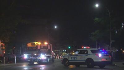 Tres trabajadores de construcción resultaron heridos por una fuga de gas en Brooklyn