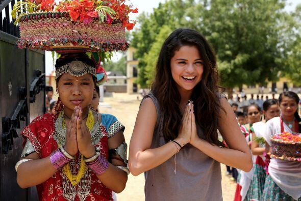Para Selena esta fue una experiencia renovadora, la cantante aseguró que...