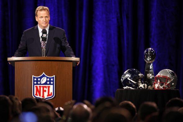 El comisionado de la NFL, Roger Goodell, reconoció que est&aacute...