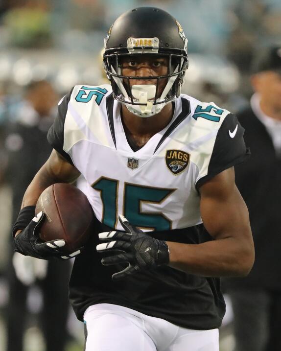 El WR Allen Robinson deja los Jacksonville Jaguars para sumarse a los Ch...