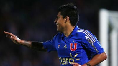 Patricio Rubio anotó un doblete en el triunfo de la U.