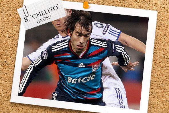 Por la izquierda otro argentino, César 'Chelito' Delgado, al que ya se l...