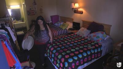 La familia puertorriqueña que lleva un año en un motel de Orlando
